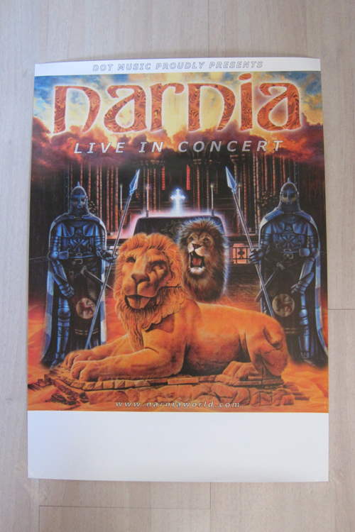 narnia long live the king desert land poster