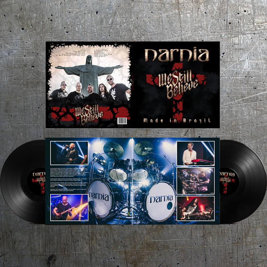 narnia we still believe - professional live album recorded in Brazil!